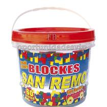 Balde De Blockes De Encastre Grande X 60 San Remo