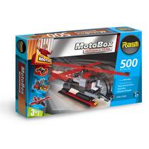 Rasti Motobox Helicoptero 500 Piezas 3 En 1 - Tuni 01-1123