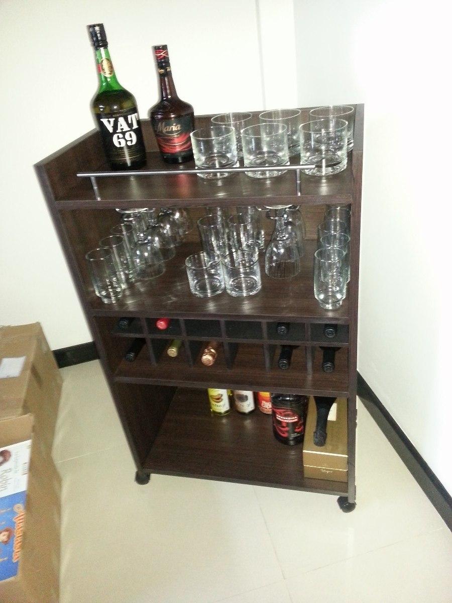 Bodega Mueble Vinoteca Mesa Bar Comedor Living Modular Coci  $ 1890