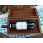 Caja Para Vinos Finos Con Vino Para Guardar, Deco