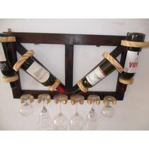 Bodega, Tranquerita, Para 4 Botellas Y 6 Copas....!!!!!!