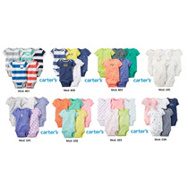 Carters Body Bebe Set Pack X5 Piezas Originales