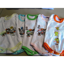 Bodys Bebe Por Mayor Pack Surtido De Talles Y Colores
