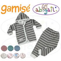 Saquito Gamisé Capucha Y Pantalon Baby Shower Ajuar Bebe