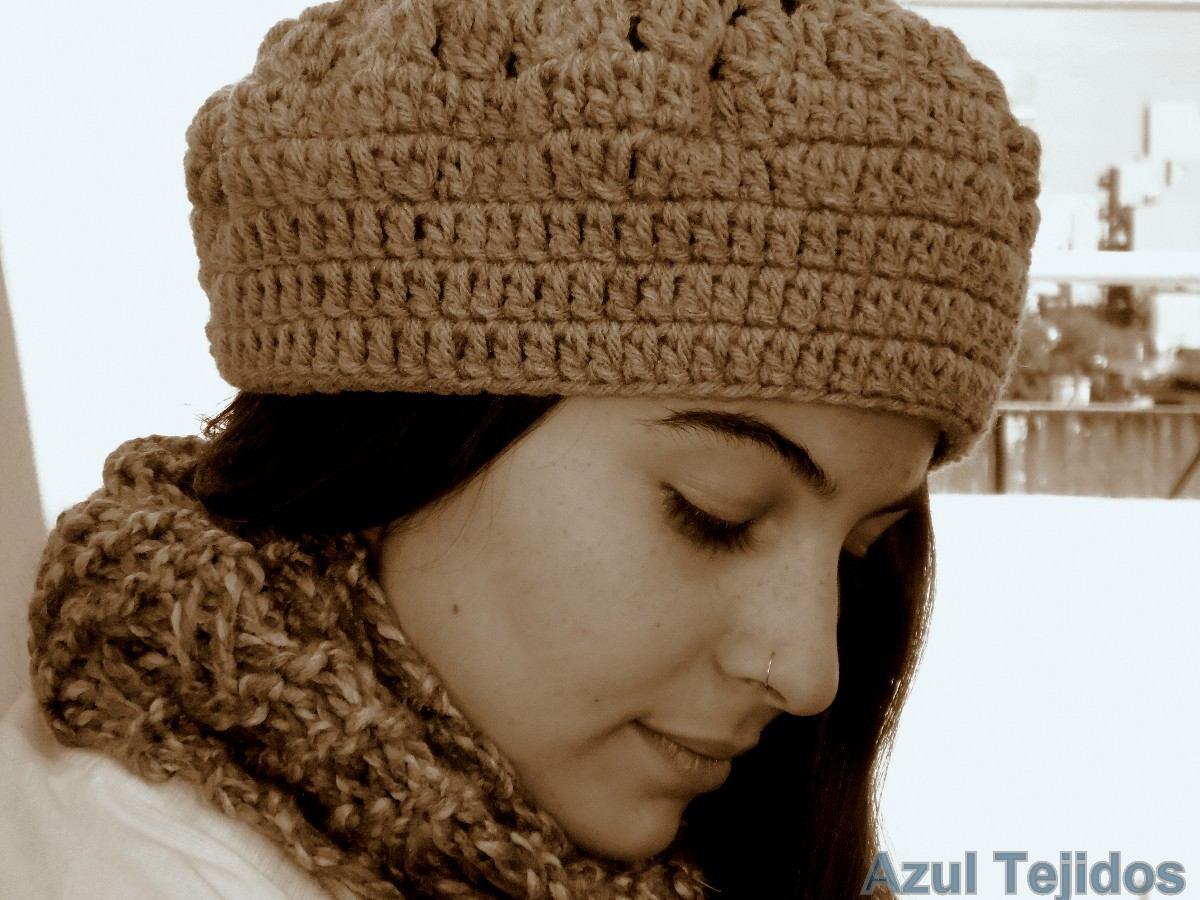 Boinas Gorros Sombreros Tejidos A Mano Modelo 2014 - $ 135,00 en ...