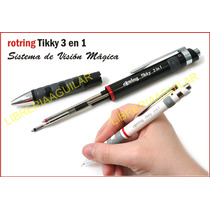 Rotring Triopen Tikky 3 En 1 Portamina + 2 Boligrafos