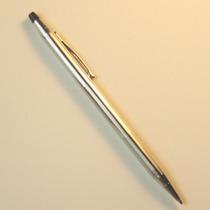 Bolígrafo Cross Plateado Classic Usa ¡en Excelente Estado!