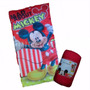Bolsa De Dormir Camping Infantil Mickey Mouse
