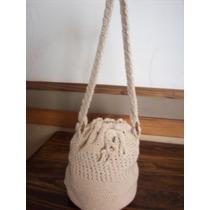 Bolso En Crochet(san Martin)