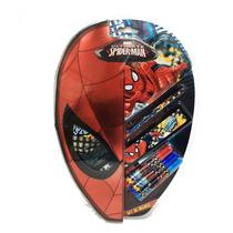 Spiderman Set De Regalo Escolar Con Lic. Marvel Original