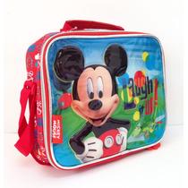 Lunchera Termica Mickey Con Licencia Disney Original