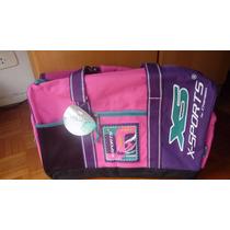 Bolso De Viaje Mediano, Combinado, Chenson Original