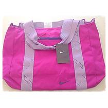 Bolso Nike Dama. Color Lila. Original Oferta