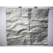 Bolsa Bolso De Tela Publicidad De Swarovski Articulo Unico