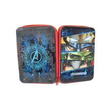 Cartuchera Avengers 3 Pisos C/cierre Licencia Original
