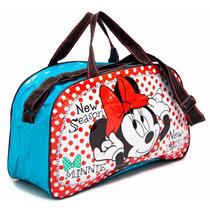 Bolso Minnie Mickey Disney Línea Original Calidad Premium
