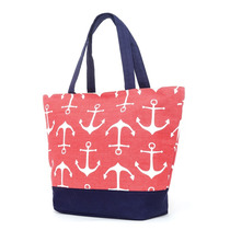 Bolso Playero Brandy Estampado Rojo