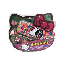 Hello Kitty Set De Regalo Escolar Con Licencia Original