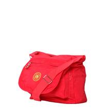 Bolso Deportivo Gym Bandolera Material Kipling Rojo Fuerte