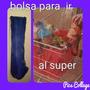 Bolsa Para Changuito Supermercado Con Soporte