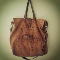 Bolso/cartera, Shopping Bag, Open Tote, Canvas/cuero. Unisex