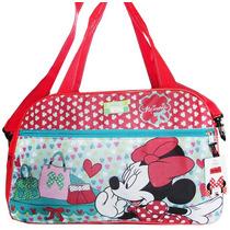 Bolso Infantil Minnie Mickey Disney Original Línea Premium