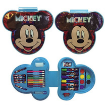 Mickey Set De Arte 33 Piezas C/lic.disney Original