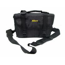 Bolso Nikon Nacional P/ D3100 D3200 D800 D7000 D7100 D5200