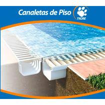 Kit Canaleta De Piso 2 Mts + Rejilla , Desagote La Plata