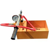 Bomba De Prueba Hidraulica 25 Bar Accionamiento Manual