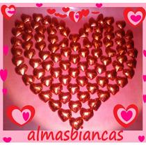 Bombones Artesanales Chocolate Por Mayor Corazones Y Flores