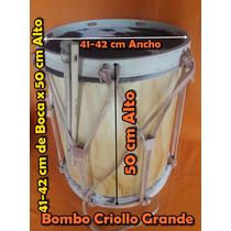 Bombo Leguero Criollo Grande 41-42x50 Santiago Del Estero
