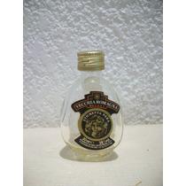 Botellita Miniatura De Brandy Vecchia Romagna Vacia
