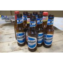 5 Botellas Vacias Cerveza Porron Quilmes A Rosca De 500 Ml