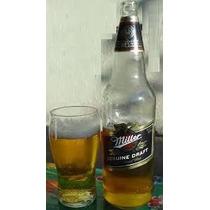 Envases De Cerveza Miller Retornable De Litro. Lote X 10u