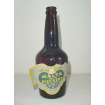 Antigua Botella De Malta Líquida ¨bieckert¨