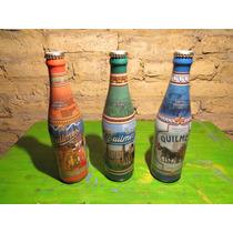 Botellas Cerveza Quilmes Edicion Historica Llenas