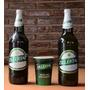 Lote 2 Botellas + 1 Vaso Cerveza Zillertal Llena Uruguay