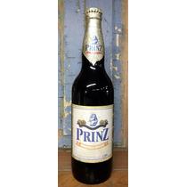 Antigua Botella De Cerveza Prinz Uruguay Cerrada Original