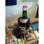 Botella De Ferro China Bisleri Antiguo Con Su Contenido