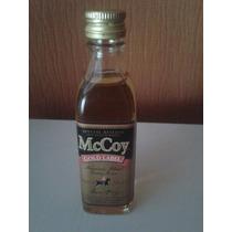 Botellita De Coleccion Mccoy Whisky Gold Label 50 Ml Escocia