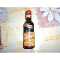 Antigua Botellita Miniatura Vino Viejo Suter Petaca