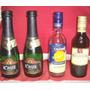 Lote De 1 Botella Champagne 1d Vino Y Otra D Cinzano Mini Ex