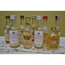 Lote De Colección 5 Botellitas En Miniatura De Whisky #5