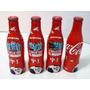 Lote Botellas De Coca Cola Mundial Brasil 2014 De Al. 250 Ml