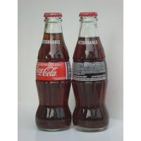 Coca Cola Retornable Botella De 200 Cm3 Tapa $ 1 Llena