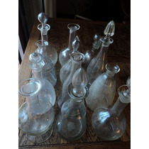 Antiguas Botellas De Licor (cada Una) Aelegir Noenvío