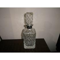Antiguo Botellon Cristal De Diseño Retroclásicos