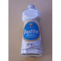 Antigua Botella De Vidrio Apresto Plastitel