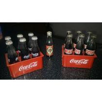 Botellitas Coca Cola Excelente Estado $455(6 Botellas+cajon)